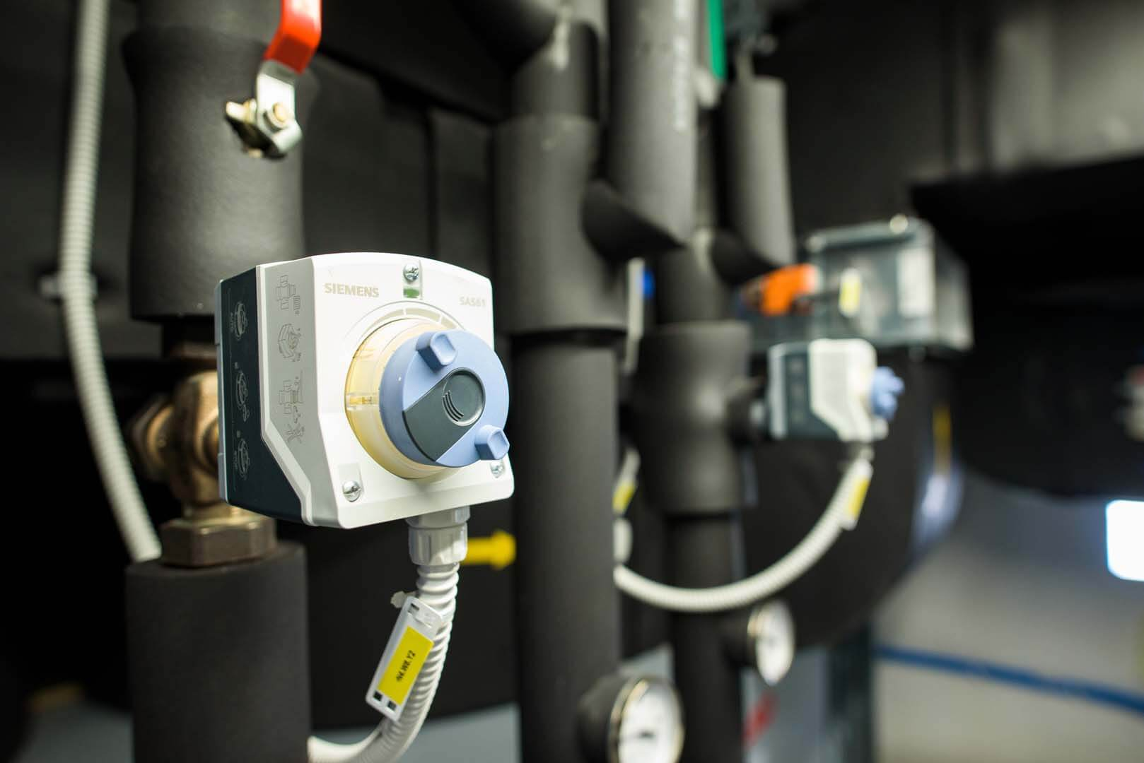 strojne in elektro instalacije